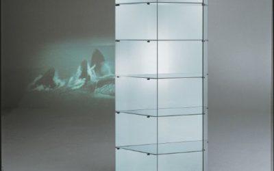 Designer Vitrine Black and white 251/M