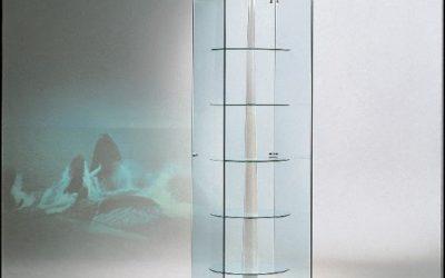 Designer Vitrine Black and white 50/G