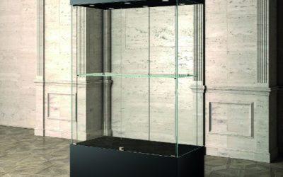 Museums-Vitrine MU / 120 – schwarz