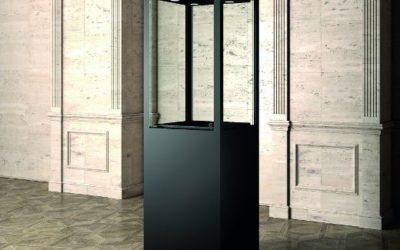 Museums-Vitrine MU / 60FM – schwarz