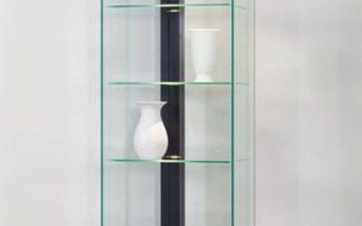 Designer Vitrine Linea 50 schwarz