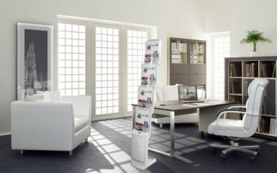 Faltbarer Prospektständer realzip bianco 4 x A4