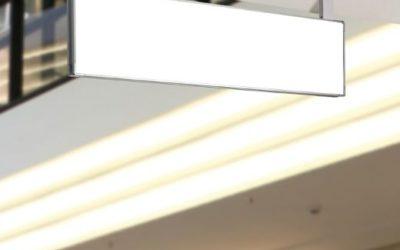Schilder und Befestigung signcode ceiling